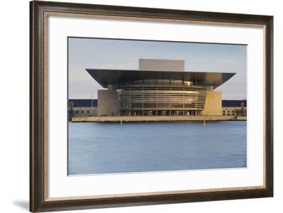 Opera, Havnebussen, Copenhagen, Denmark-Rainer Mirau-Framed Photographic Print