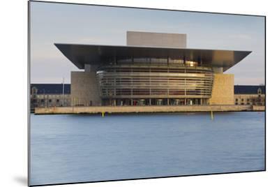 Opera, Havnebussen, Copenhagen, Denmark-Rainer Mirau-Mounted Photographic Print