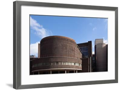 Moscow, Corbusier, Zentrosojus-Trade Union House, Architectural Monument-Catharina Lux-Framed Photographic Print
