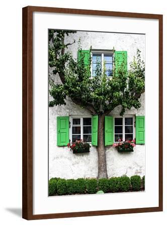 House, View, Tree-Jule Leibnitz-Framed Photographic Print