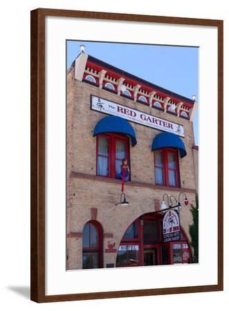 USA, Arizona, Route 66, Williams, Hotel Facade-Catharina Lux-Framed Photographic Print