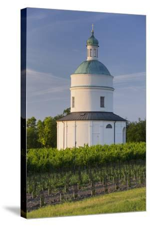 Rochus Chapel Marchfeld, Angern, Vineyards, Lower Austria, Austria-Rainer Mirau-Stretched Canvas Print