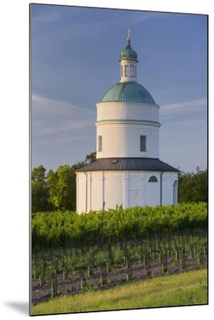 Rochus Chapel Marchfeld, Angern, Vineyards, Lower Austria, Austria-Rainer Mirau-Mounted Photographic Print