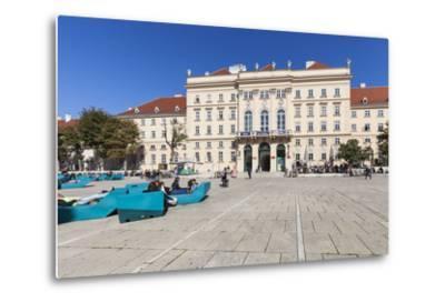 Museumsquartier, Vienna, Austria, Europe-Gerhard Wild-Metal Print