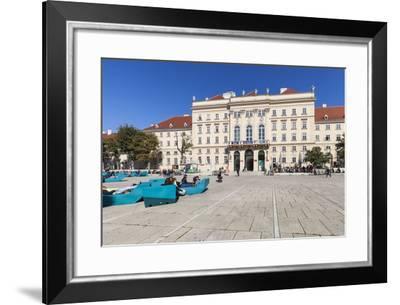 Museumsquartier, Vienna, Austria, Europe-Gerhard Wild-Framed Photographic Print