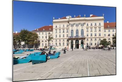 Museumsquartier, Vienna, Austria, Europe-Gerhard Wild-Mounted Photographic Print