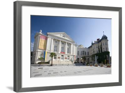 Austria, Lower Austria, Bathing, City-Theater, Theater-Place-Rainer Mirau-Framed Photographic Print