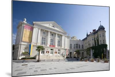 Austria, Lower Austria, Bathing, City-Theater, Theater-Place-Rainer Mirau-Mounted Photographic Print