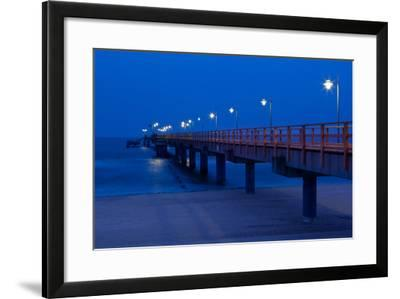 Usedom, Baltic Sea Spa Bansin, Pier-Catharina Lux-Framed Photographic Print