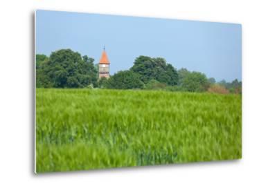 The Baltic Sea, RŸgen, Church Middelhagen-Catharina Lux-Metal Print