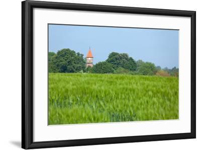 The Baltic Sea, RŸgen, Church Middelhagen-Catharina Lux-Framed Photographic Print