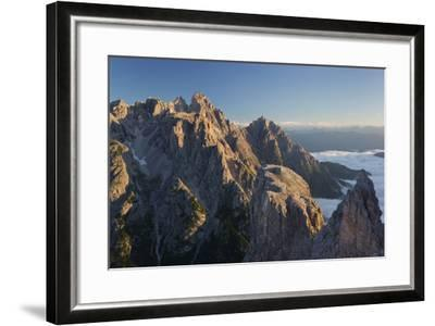 Neunerkofel, South Tyrol, the Dolomites Mountains, Italy-Rainer Mirau-Framed Photographic Print