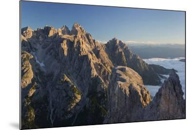 Neunerkofel, South Tyrol, the Dolomites Mountains, Italy-Rainer Mirau-Mounted Photographic Print