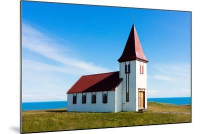 Peninsula Snaefellsnes, Church in Hellnar-Catharina Lux-Mounted Photographic Print