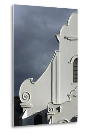 South Africa, Worcester, Presbyterian Church, Gable-Catharina Lux-Metal Print