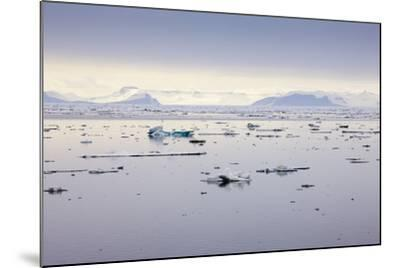 Norway, Spitsbergen, Drift Ice-Frank Lukasseck-Mounted Photographic Print
