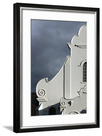 South Africa, Worcester, Presbyterian Church, Gable-Catharina Lux-Framed Photographic Print