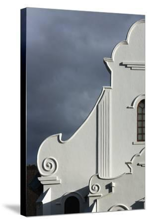 South Africa, Worcester, Presbyterian Church, Gable-Catharina Lux-Stretched Canvas Print