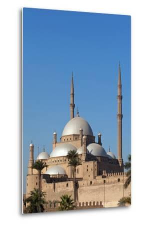 Egypt, Cairo, Citadel, Mosque of Muhammad Ali-Catharina Lux-Metal Print