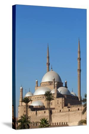 Egypt, Cairo, Citadel, Mosque of Muhammad Ali-Catharina Lux-Stretched Canvas Print