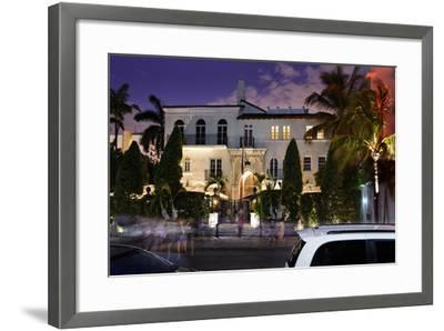 Hotel 'The Villa by Barton G.', Former Residence of Versace, Miami South Beach-Axel Schmies-Framed Photographic Print