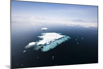 Norway, Storfjord, Drift Ice-Frank Lukasseck-Mounted Photographic Print