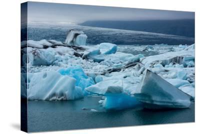 Jškulsarlon, Glacier Lagoon-Catharina Lux-Stretched Canvas Print