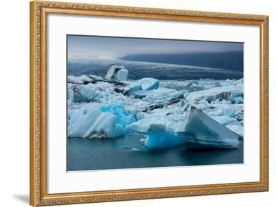Jškulsarlon, Glacier Lagoon-Catharina Lux-Framed Photographic Print