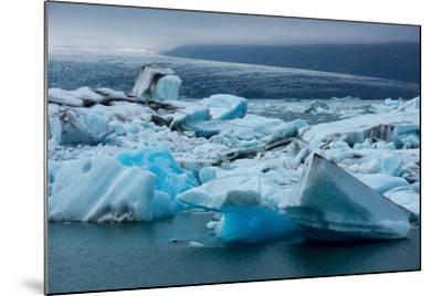 Jškulsarlon, Glacier Lagoon-Catharina Lux-Mounted Photographic Print