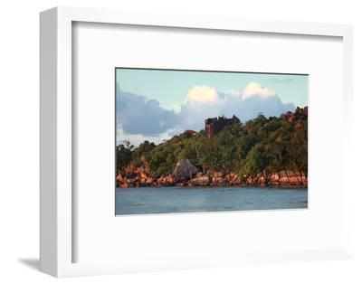 The Seychelles, La Digue, Pointe Cap Barbi-Catharina Lux-Framed Photographic Print