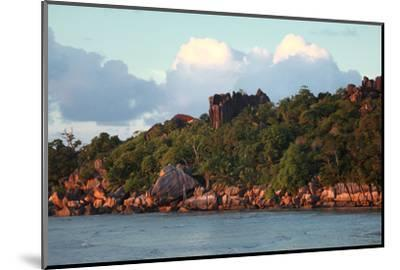 The Seychelles, La Digue, Pointe Cap Barbi-Catharina Lux-Mounted Photographic Print