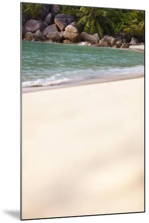 Dream Beach, Indian Ocean, Seychelles, Sand, Water, Granite Rocks-Harry Marx-Mounted Photographic Print