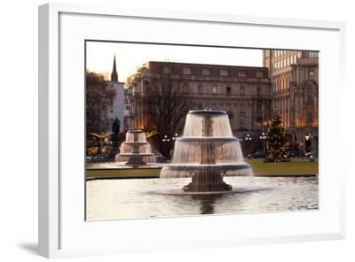 Germany, Wiesbaden, Health Resort House, Well, Wilhelmstrasse-Catharina Lux-Framed Photographic Print
