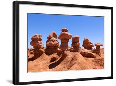 USA, Utah, Goblin Valley State Park-Catharina Lux-Framed Photographic Print