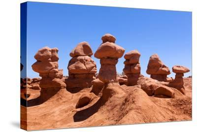 USA, Utah, Goblin Valley State Park-Catharina Lux-Stretched Canvas Print