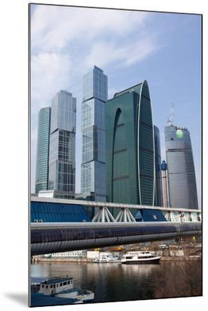 Moscow, Cityscape, Moscow City, Modern Architecture-Catharina Lux-Mounted Photographic Print