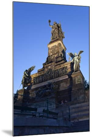 Germany, Hessen, Middle Rhine Valley, RŸdesheim, Niederwalddenkmal-Chris Seba-Mounted Photographic Print