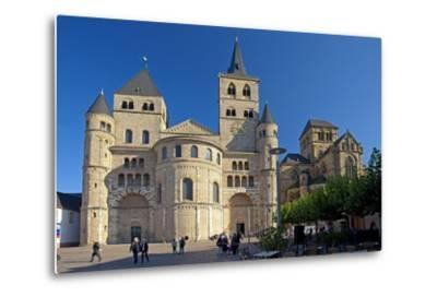 Germany, Rhineland-Palatinate, the Moselle, Trier, Cathedral-Chris Seba-Metal Print