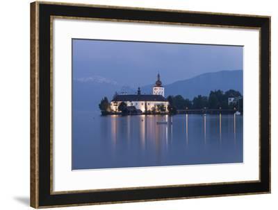 Schloss Orth, Traunsee, Gmunden, Salzkammergut, Upper Austria, Austria-Gerhard Wild-Framed Photographic Print