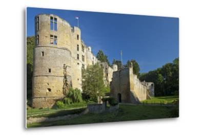 Luxembourg, Beaufort Castle, Ruin-Chris Seba-Metal Print