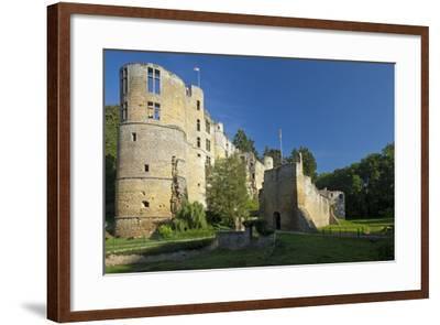 Luxembourg, Beaufort Castle, Ruin-Chris Seba-Framed Photographic Print