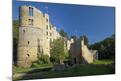 Luxembourg, Beaufort Castle, Ruin-Chris Seba-Mounted Photographic Print
