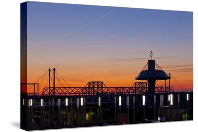 Germany, Lower Saxony, Hannover, Exhibition Site, Convention Centre-Chris Seba-Stretched Canvas Print
