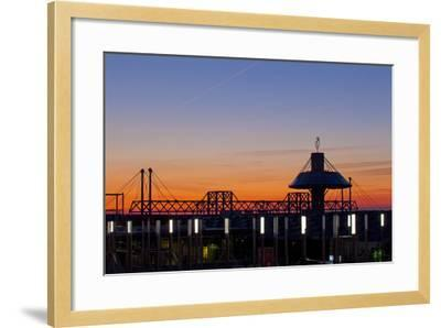 Germany, Lower Saxony, Hannover, Exhibition Site, Convention Centre-Chris Seba-Framed Photographic Print