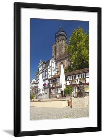 Germany, Hessen, Northern Hessen, Electoral Hesse Mountain Country, Homberg / Efze-Chris Seba-Framed Photographic Print