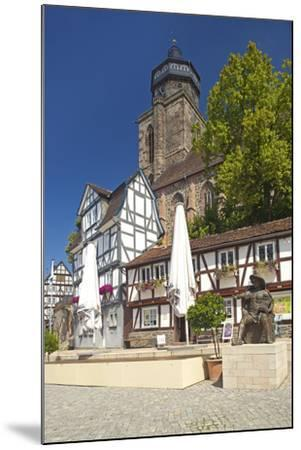 Germany, Hessen, Northern Hessen, Electoral Hesse Mountain Country, Homberg / Efze-Chris Seba-Mounted Photographic Print