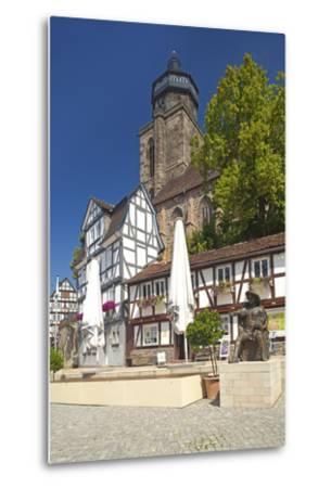Germany, Hessen, Northern Hessen, Electoral Hesse Mountain Country, Homberg / Efze-Chris Seba-Metal Print