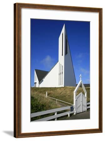 St. Thomas Church in Hornum on the Island of Sylt, the Last Listed Facade of Schleswig-Holstein-Uwe Steffens-Framed Photographic Print