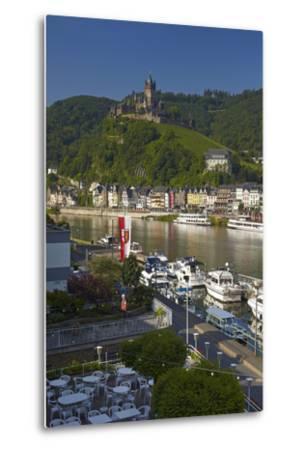 Germany, Rhineland-Palatinate, the Moselle, Cochem, Castle-Chris Seba-Metal Print