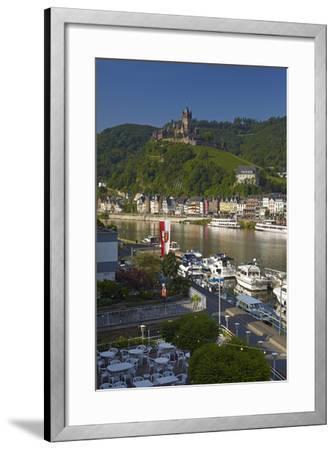 Germany, Rhineland-Palatinate, the Moselle, Cochem, Castle-Chris Seba-Framed Photographic Print